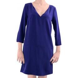 Mango Dress Odry Navy Dress