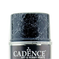 Cadence Spray Marble Effect Paint Silver Veined 200ml