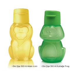 Eco Bottle 2 Owl - Teddy Bear