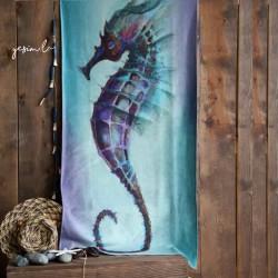 Beach Towel Sea Horse Model