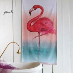 Beach Towel Flamingo Model
