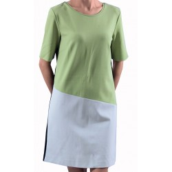 Mango Dress Vio Green