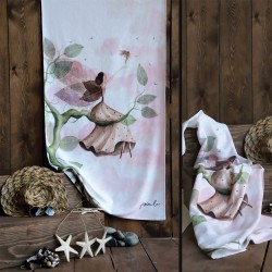 Beach Towel Night Fairy Model