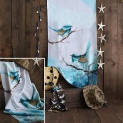 Beach Towel Blue Prisoners Model