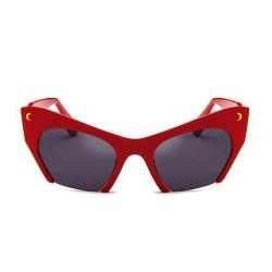 Fashion Moon Tiffany Model Red Frame Sunglasses