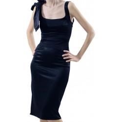 Mango Gece Elbisesi Broome Diz Altı Siyah