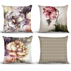 Table Chart Pillow Cases Model 01 Rose Fairy Pillow Set