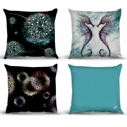 Table Chart Pillow Cases Model 07 Sea Horse Set