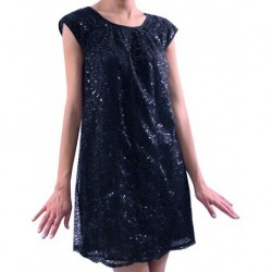 Mango Evening Gown Minnie Black Sequined