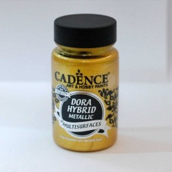 Dora Hybrid Metallic Paint For All Surfaces 7136 R. Gold 90ml