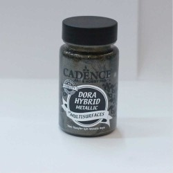 Dora Hybrid Metallic Paint For All Surfaces 7138 Anthracite 90ml