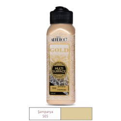 Artdeco 505 Champagne Metallic Paint For All Surfaces