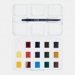 Watercolor 12 Pieces Professional Van Gogh Watercolor Block Note Set