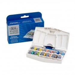 Watercolor Cotman Winsor Newton S. Boya Plus Pocket Type Set Set of 12