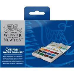 Watercolor Winsor Newton Cotman S. Paint Painting Set (With T. Tablet)