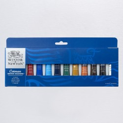Watercolor Winsor Newton Cotman S. Paint Tube Set 12X8ml