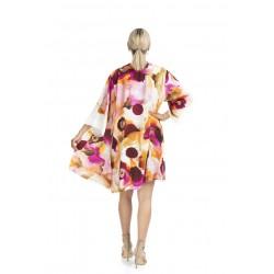 Pink Dream Model Short Kimono