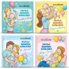 Happy Baby's Diary 4 Book Set