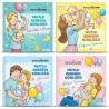 Mutlu Bebeğin Günlüğü 4'lü Kitap Seti