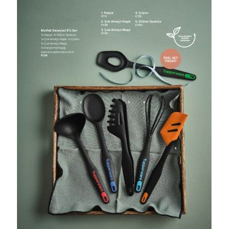 Kitchen Utensils Service Set of 6