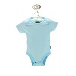 Baby Center Yarım Kollu Mavi Badi