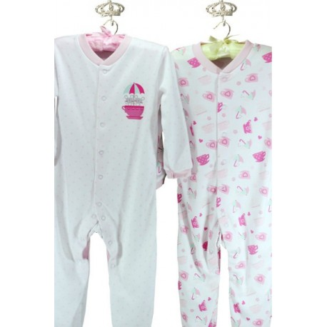 F & F Pink Mousse Sleeping Bag