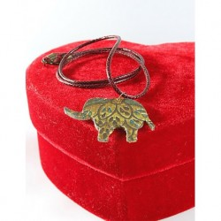 Design Wood Ugurlu Elephant Necklace
