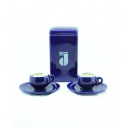 2 li Lacivert Kahve Fincanı