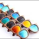 Custom Made Natural Bamboo Sunglasses