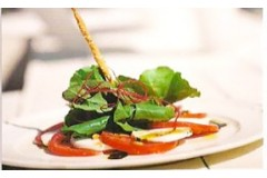 Mozzarella Salad with Tomato and Roast